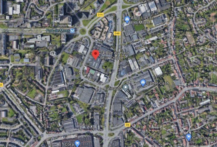 Location local d'activité - entrepôt à Villeneuve-d'Ascq - Ref.59.9770 - Image 2