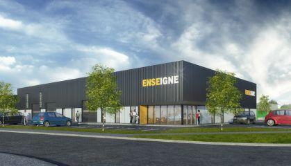 Location local d'activité - entrepôt à Saint-Magne-de-Castillon - Ref.33.7774